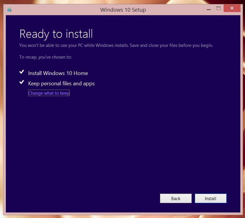 Step by Step Upgrade to Windows 10