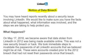 LinkedIn Breach